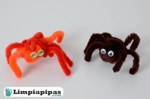 Limpiapipas araña