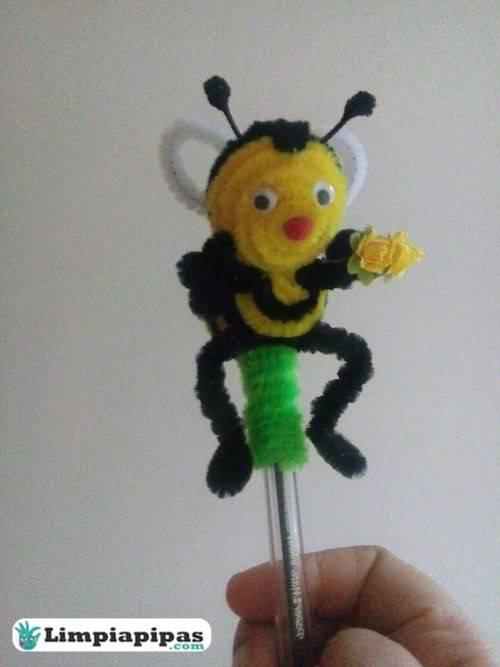 abejas limpiapipas