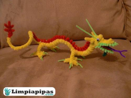 dragon con chelines
