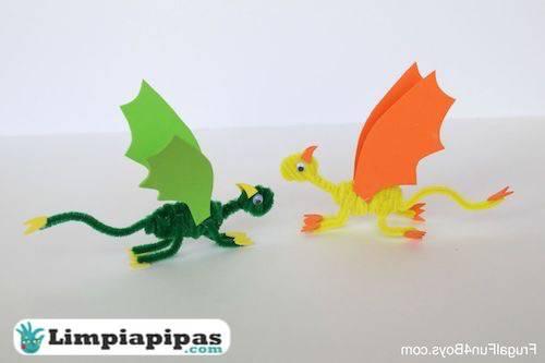 materiales dragones limpiapipas