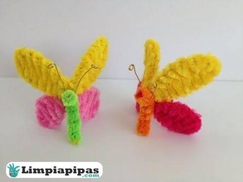 materiales mariposas