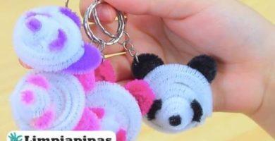 osos panda limpiapipas