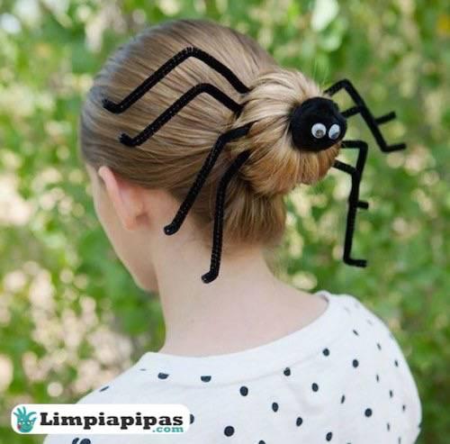 peinado coleta limpiapipas