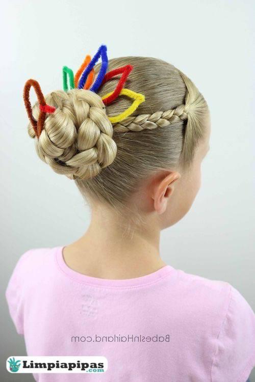peinados para niñas con limpiapipas
